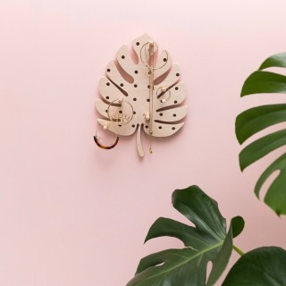 PEGBOARD FORME MONSTERA